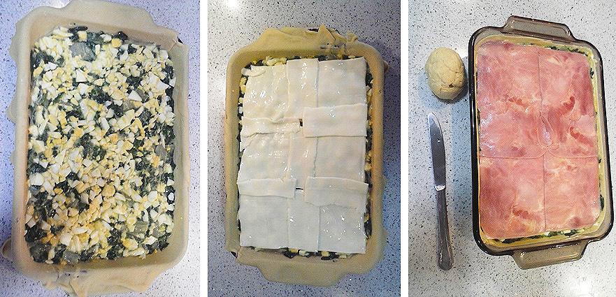 Empanada de acelga