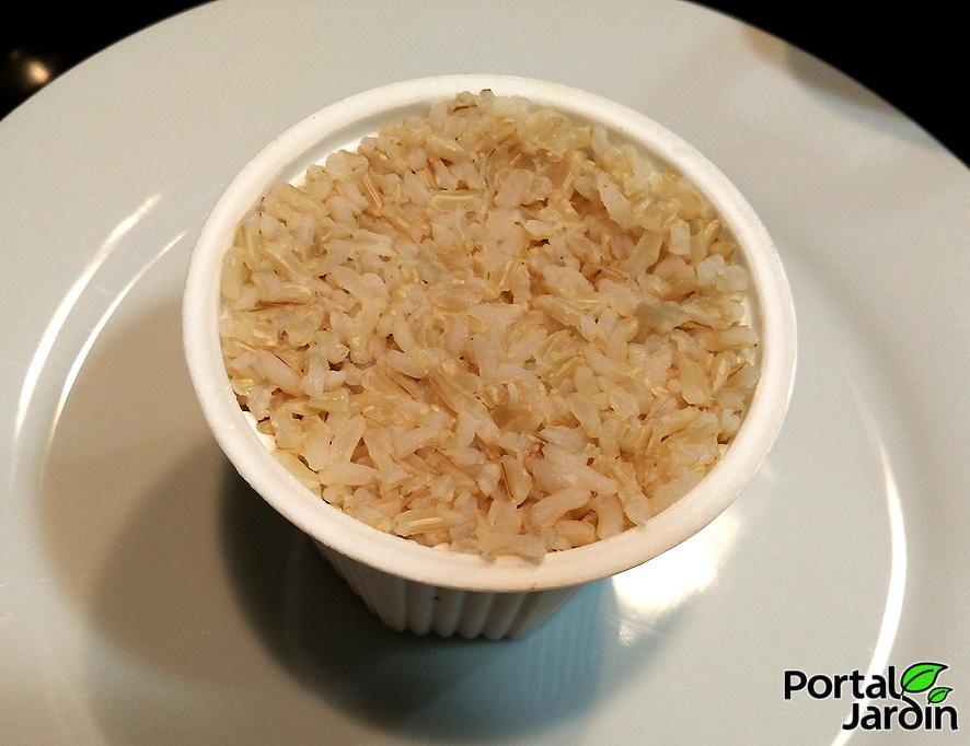 berza con arroz integral