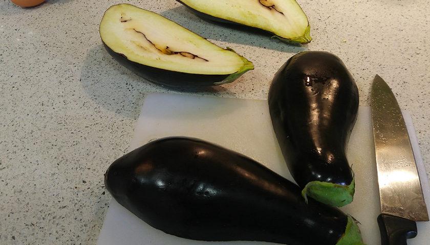 Berenjenas rellenas vegetarianas Portal Jardin