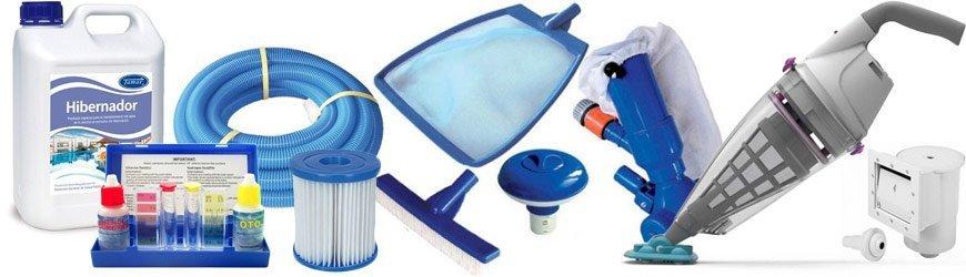 accesorios para el mantenimiento de la piscina