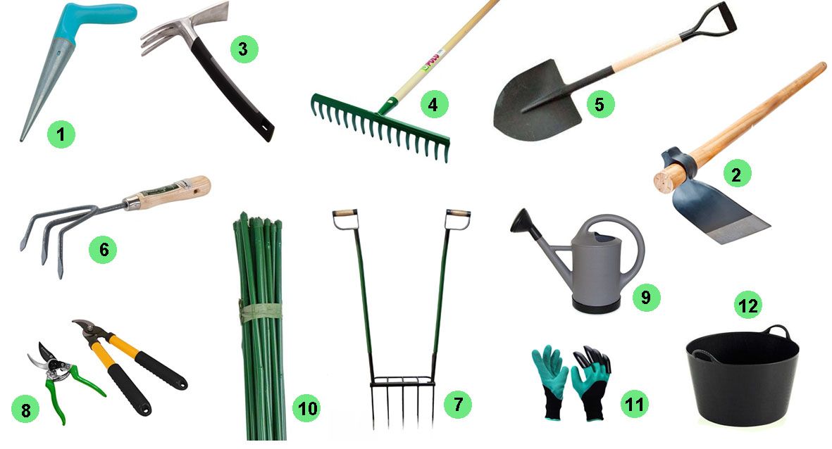 herramientas jardín y huerto Portal Jardín