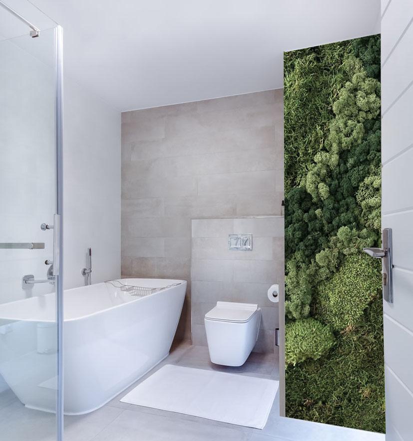 jardin vertical musgo baño